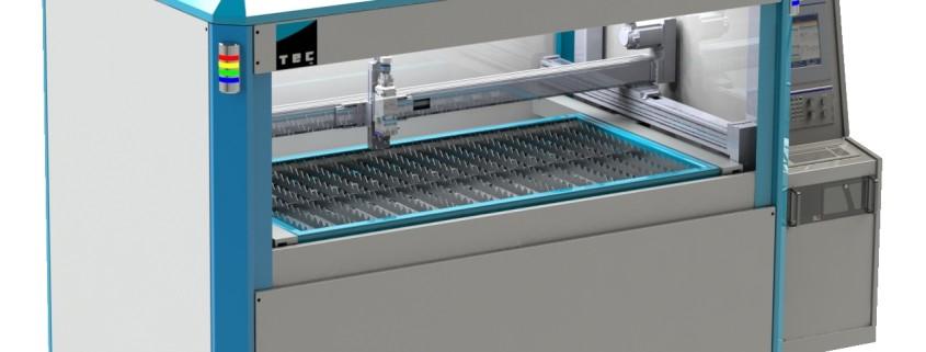 Flatbed laser cutter